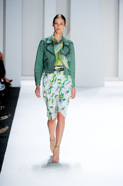 Carolina Herrera sfilata pe 2012 - NY Fashion Week