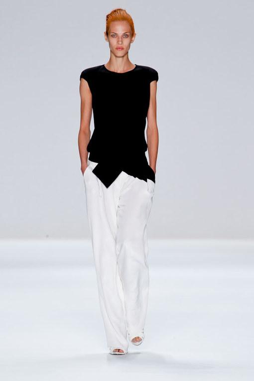 Narciso Rodriguez - NY Fashion Week FS 2012