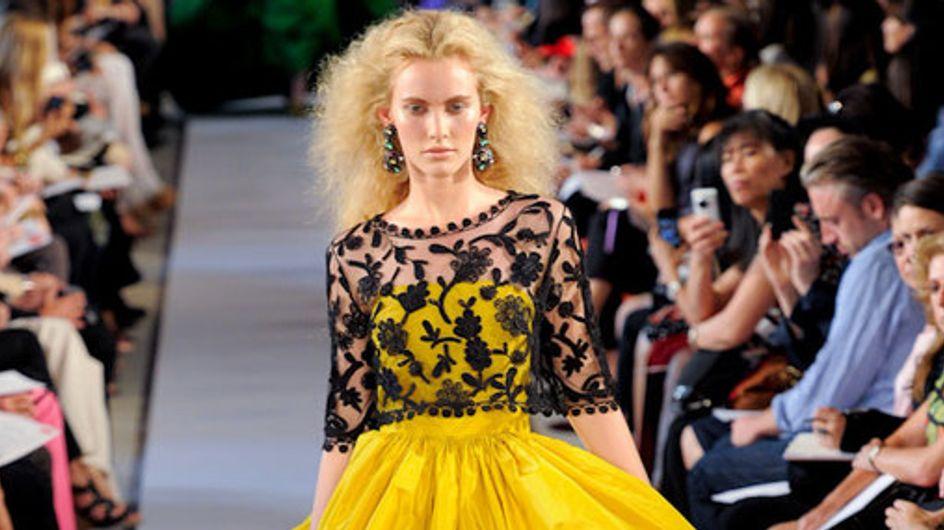 Oscar de la Renta New York Fashion Week Spring Summer 2012