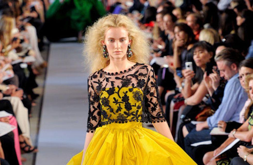 Rückkehr der Weiblichkeit: Oscar de la Renta auf der Fashion Week