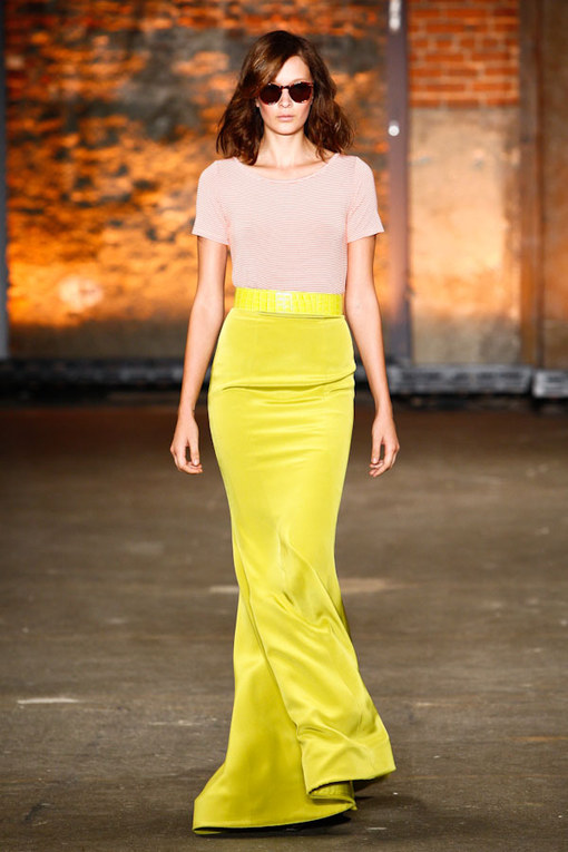 Christian Siriano - NY Fashion Week FS 2012