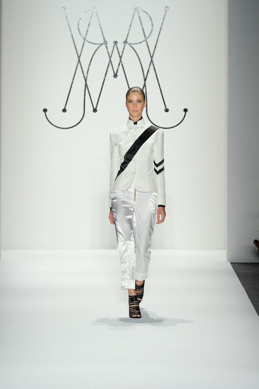 La sfilata Ruffian p-e 2012 alla New York Fashion Week