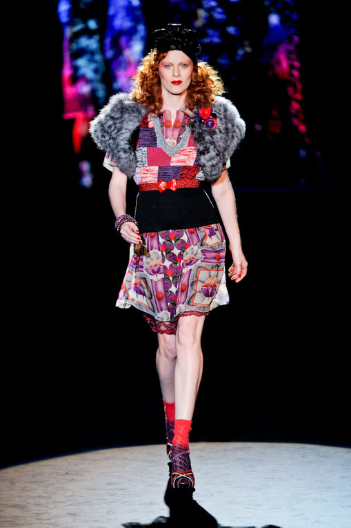 Anna Sui - NY Fashion Week FS 2012