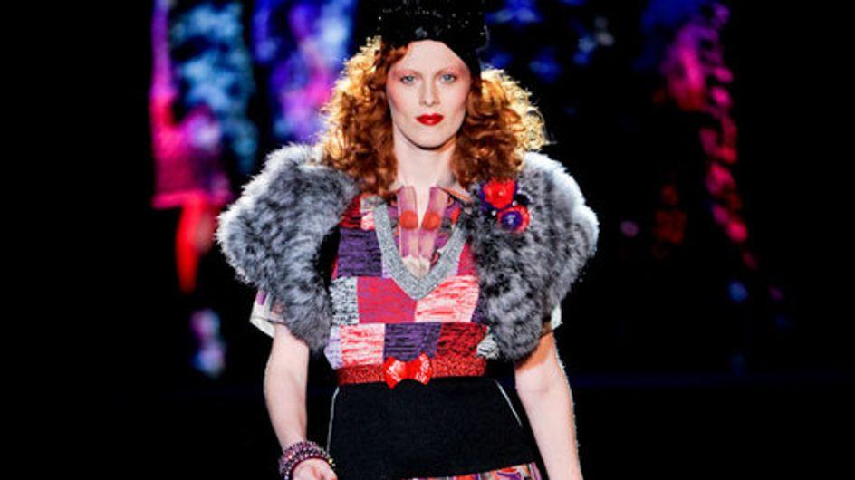 Anna Sui - Fashion Week New York Frühjahr/Sommer 2012
