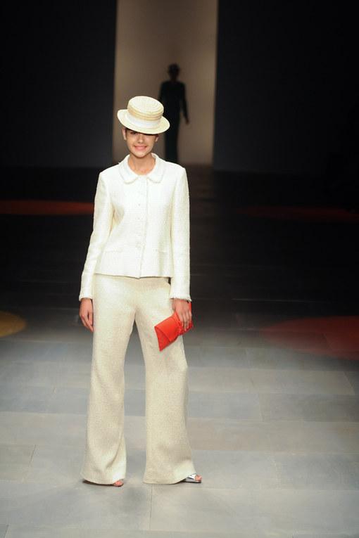 Sfilata Caroline Charles p-e 2012 London Fashion Week