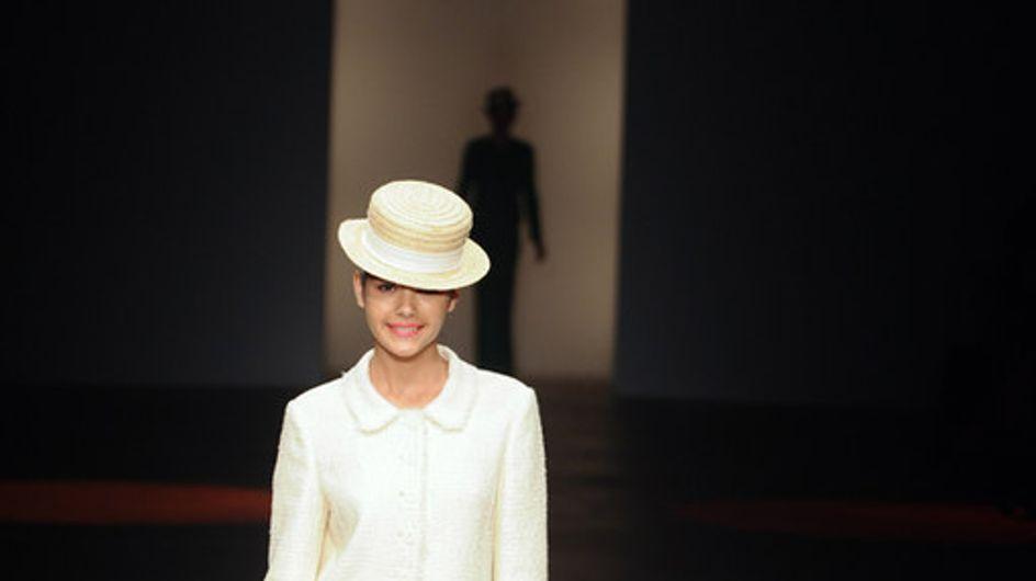 Caroline Charles - London Fashion Week Frühjahr/Sommer 2012