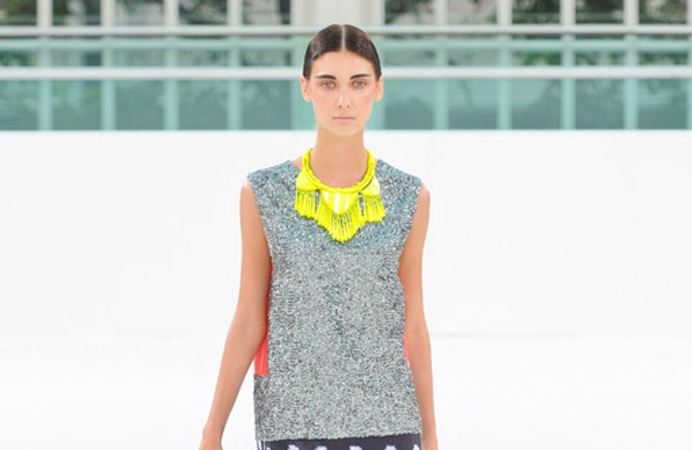 sass & bide London Fashion Week spring/summer 2012 catwalk photos