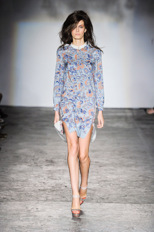 Clements Ribeiro collezione p-e 2012 - London Fashion Week