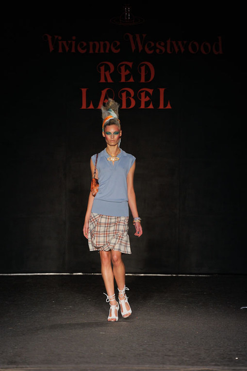Sfilata Vivienne Westwood p-e 2012 alla London Fashion Week