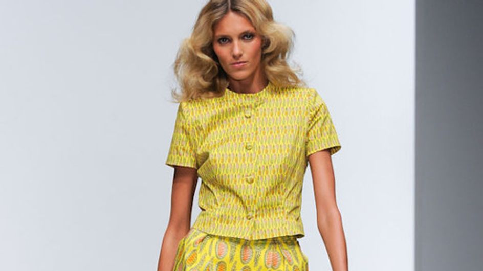 Sfilata Issa London London Fashion Week p-e 2012