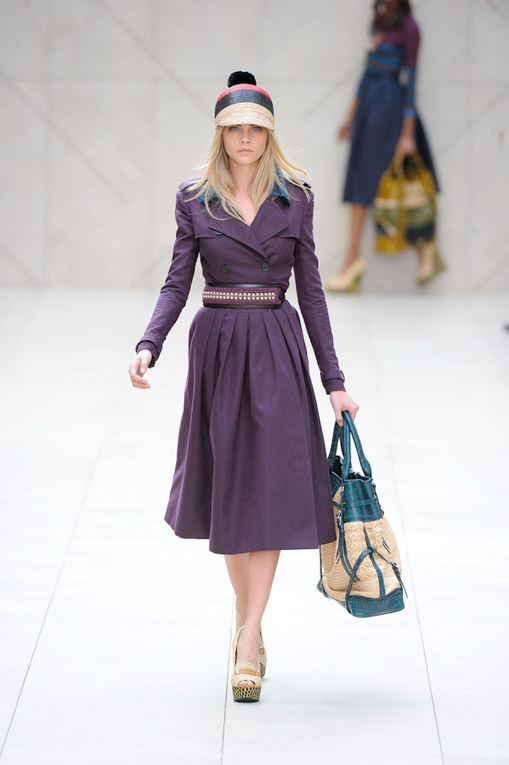 Sfilata Burberry Prosum p-e 2012 London Fashion Week