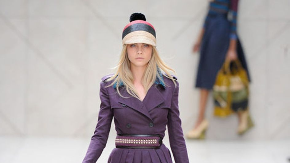 Sfilata Burberry Prosum London Fashion Week p-e 2012