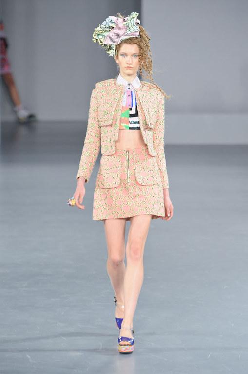 Sfilata Louise Gray p-e 2012 London Fashion Week