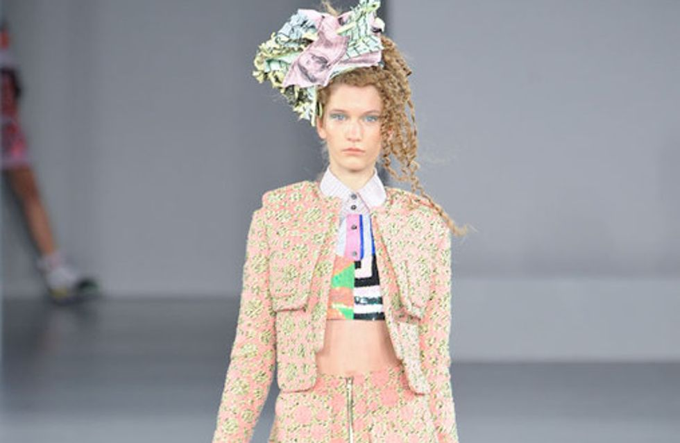 Louise Gray - London Fashion Week Frühjahr/Sommer 2012