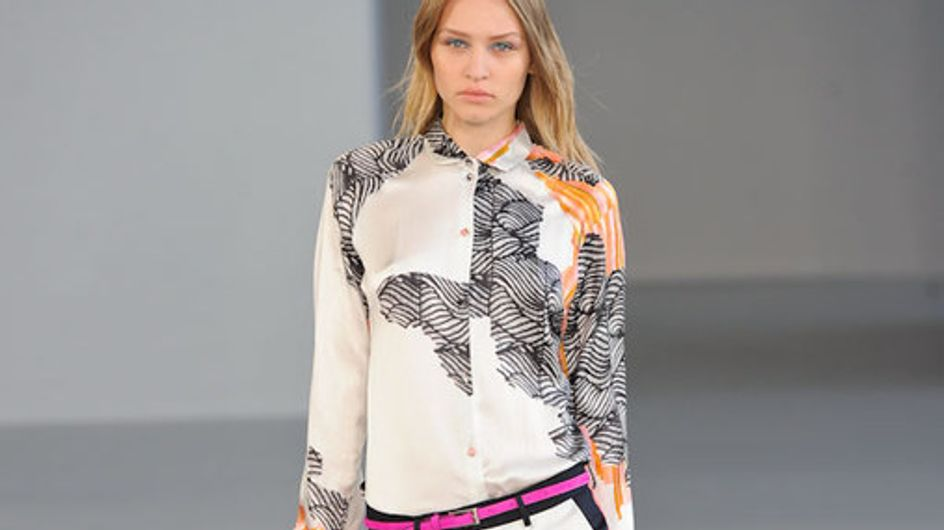 Sfilata Michael Van Der Ham London Fashion Week p-e 2012