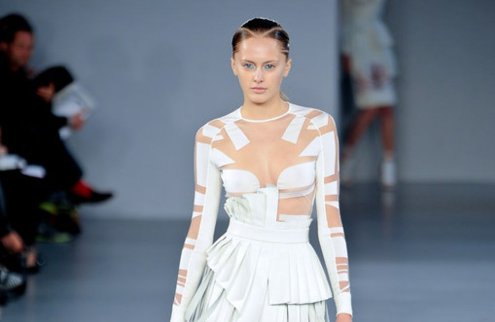 David Koma London Fashion Week spring/summer 2012