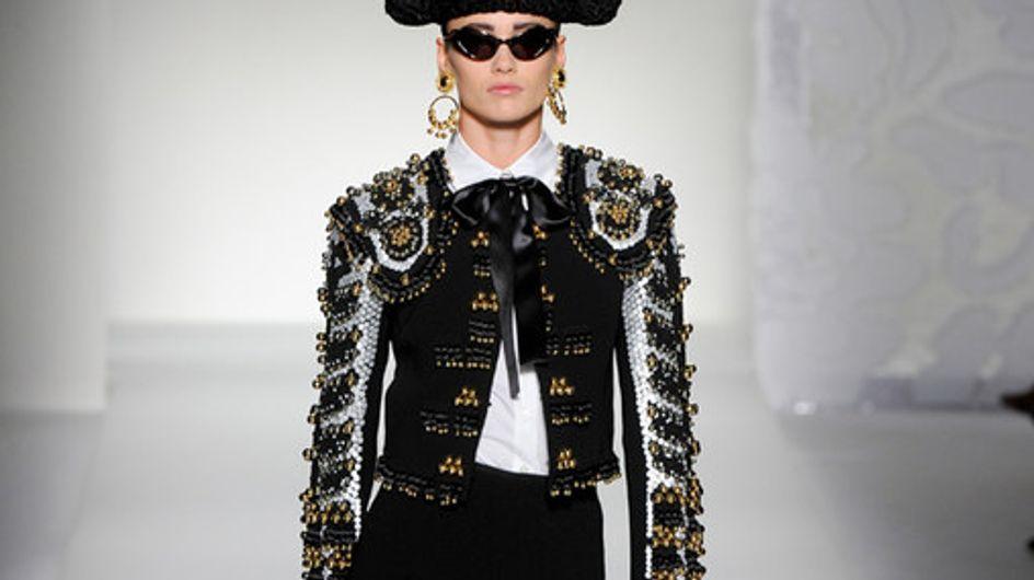 Moschino Milan Fashion Week spring/summer 2012