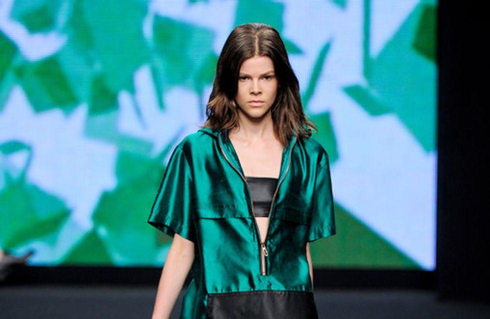Sfilata C'N'C Costume National p-e 2012 Milano Moda Donna