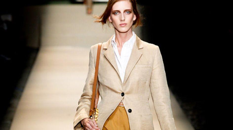 Sfilata Trussardi p-e 2012 Milano Moda Donna