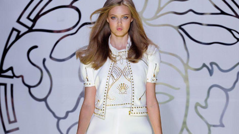 Sfilata Versace p-e 2012 Milano Moda Donna