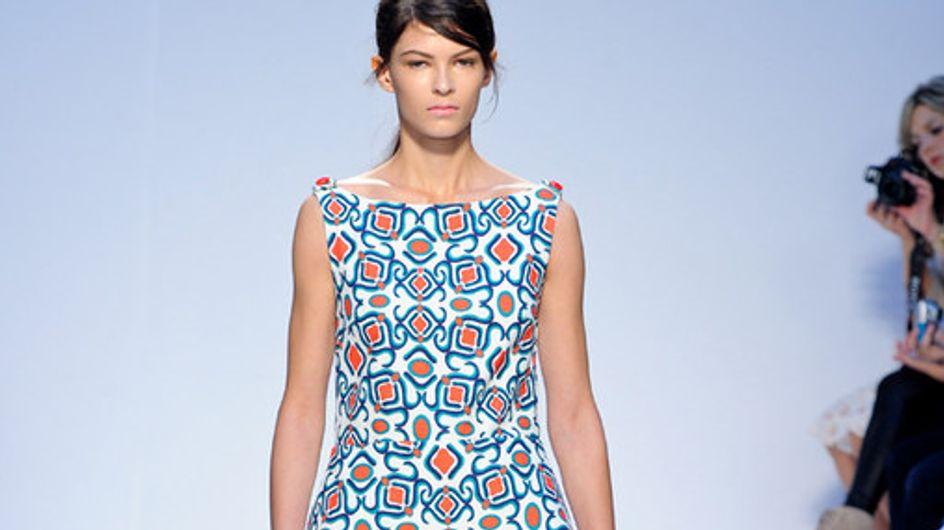 Mila Schon Milan Fashion Week spring/summer 2012