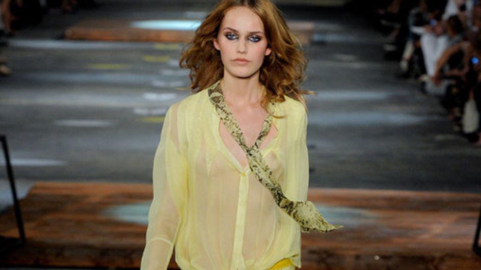 Sfilata Just Cavalli p-e 2012 Milano Moda Donna