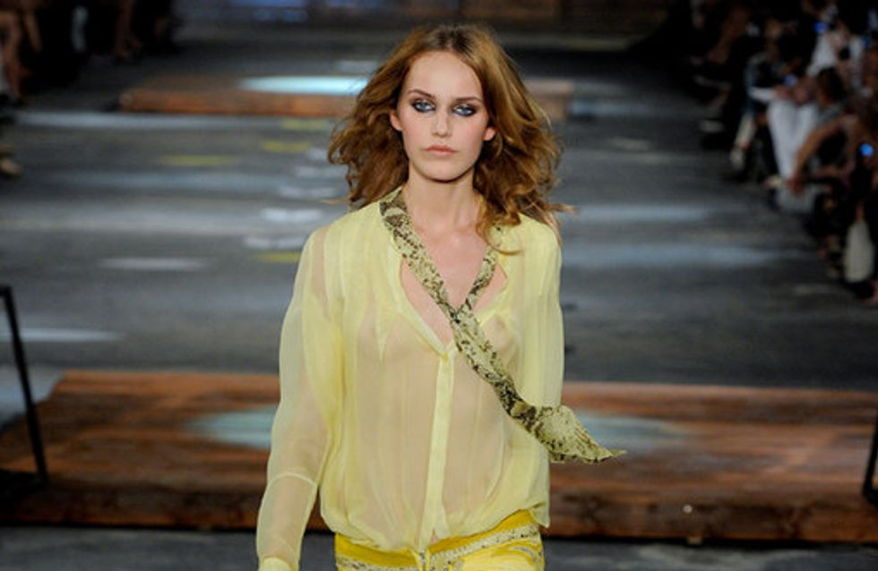 Just Cavalli Milan Fashion Week spring/summer 2012