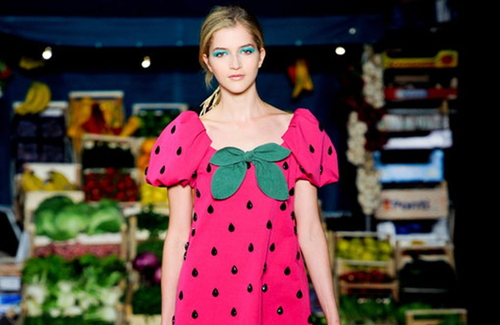 Moschino Cheap & Chic Milan Fashion Week spring/summer 2012