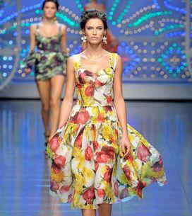 Dolce & Gabbana - Milán Fashion Week Primavera Verano 2012