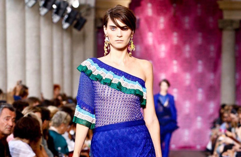 Sfilata Missoni p-e 2012 Milano Moda Donna