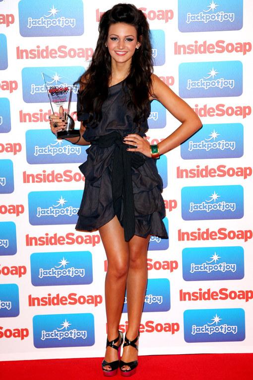 Michelle Keegan- Inside Soap Awards 2011