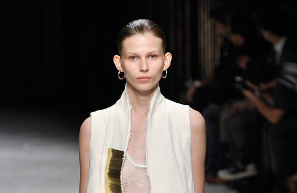 Damir Doma auf der Fashion Week Paris F/S 2012