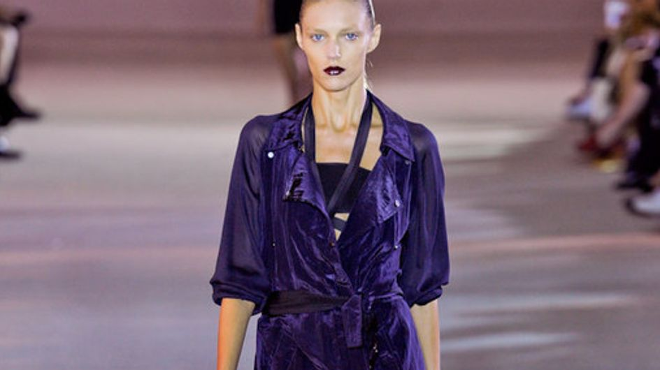Anthony Vaccarello Paris Fashion Week spring summer 2012