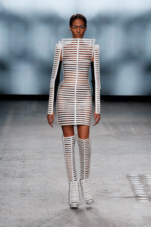 Gareth Pugh Paris Fashion Week spring summer 2012