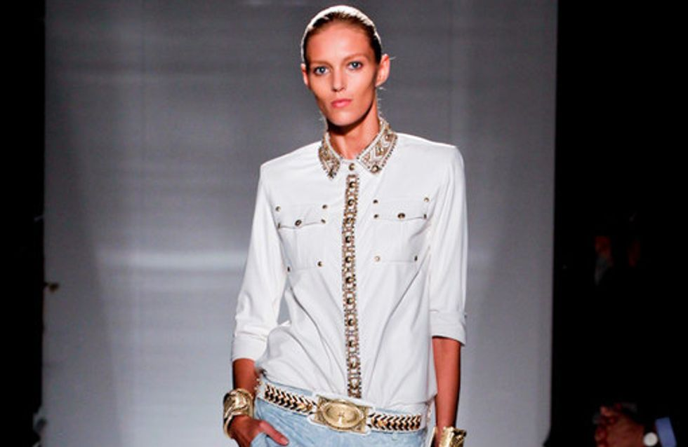 Sfilata Balmain Parigi Fashion Week p-e 2012