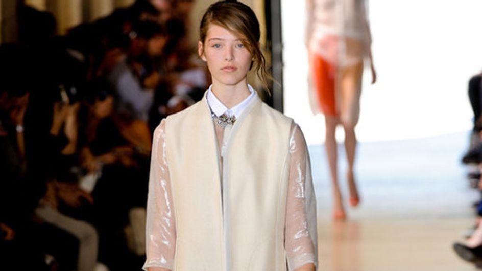 Sfilata Sharon Wauchob Parigi Fashion Week p-e 2012
