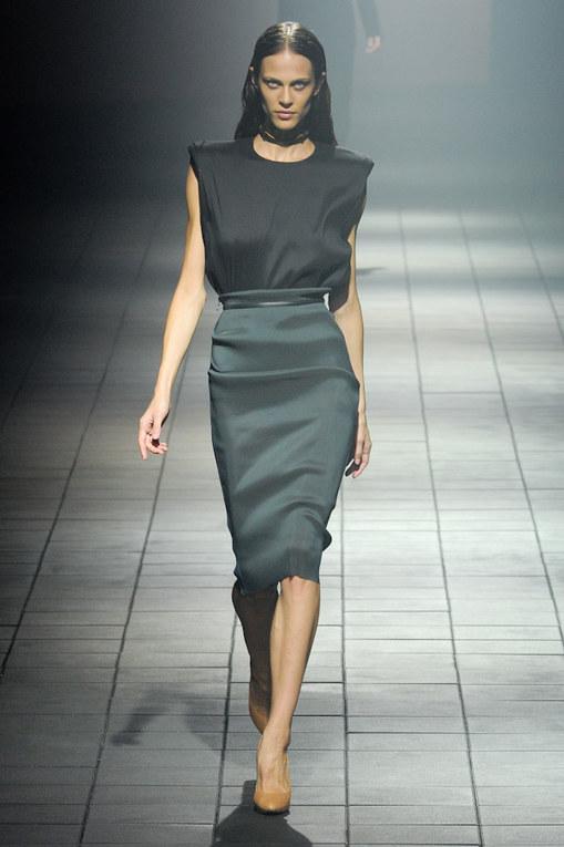 Sfilata Lanvin primavera-estate 2012 Parigi Fashion Week