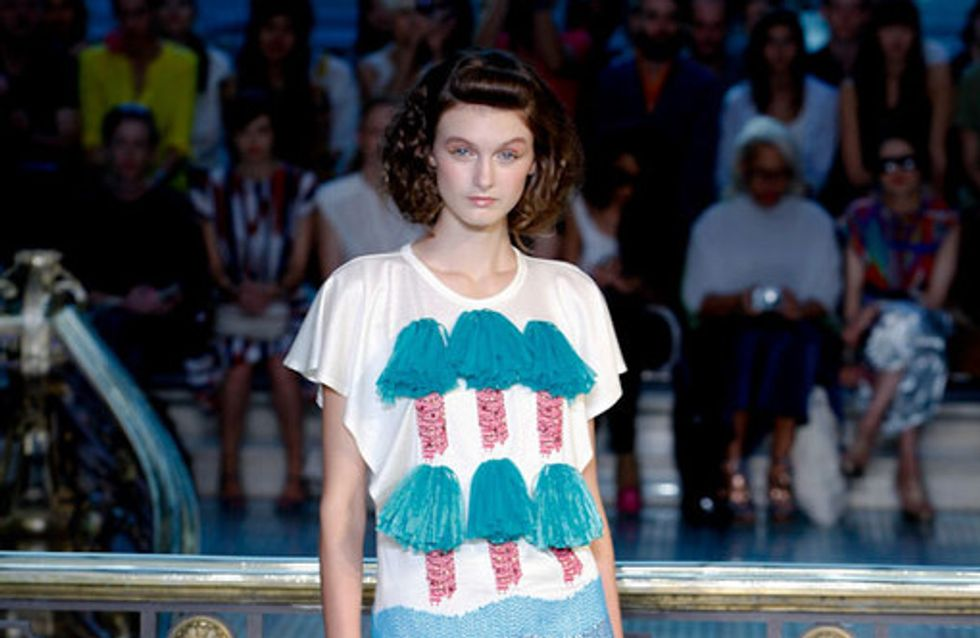 Tsumori Chisato auf der Fashion Week Paris F/S 2012