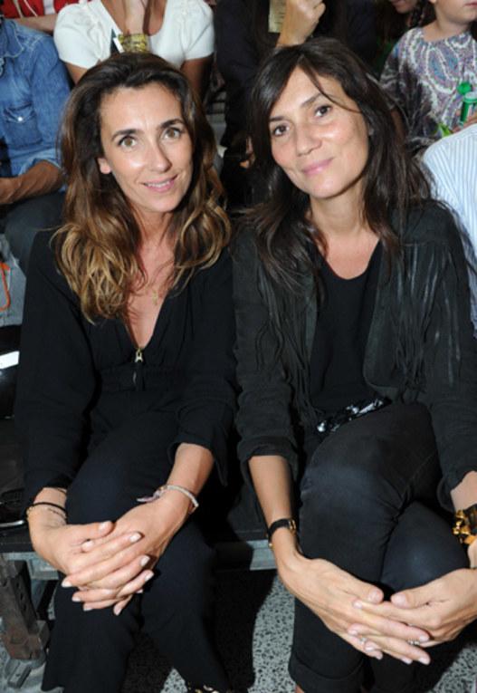 Agnès Boulard e Emmanuelle Alt