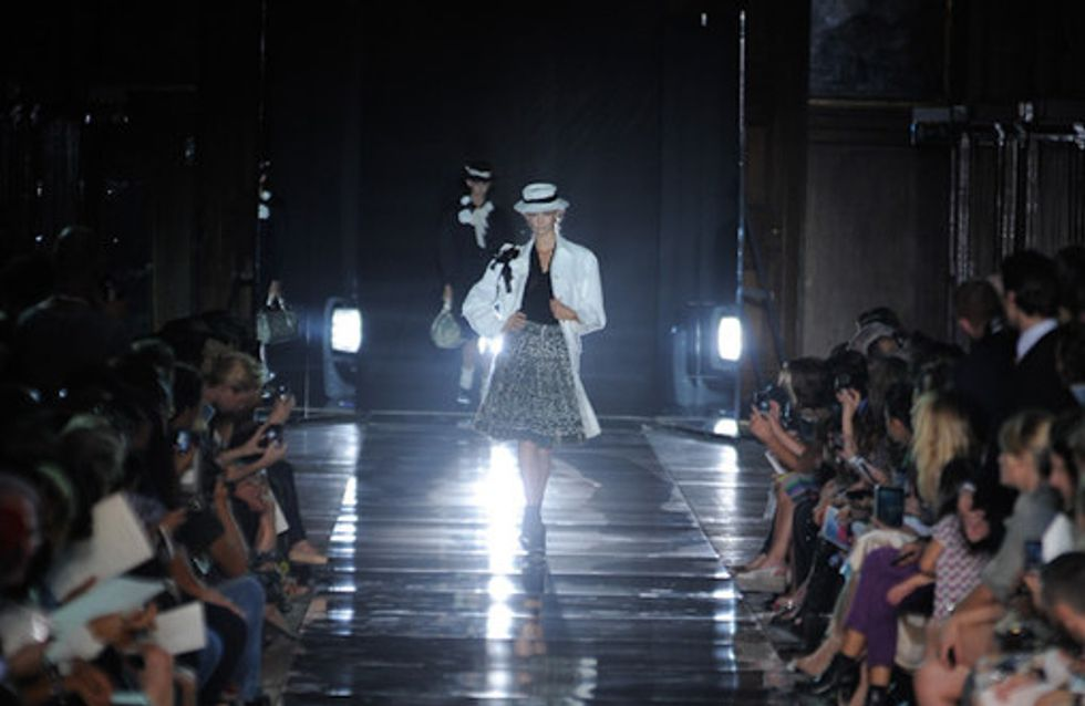 John Galliano Paris Fashion Week spring summer 2012