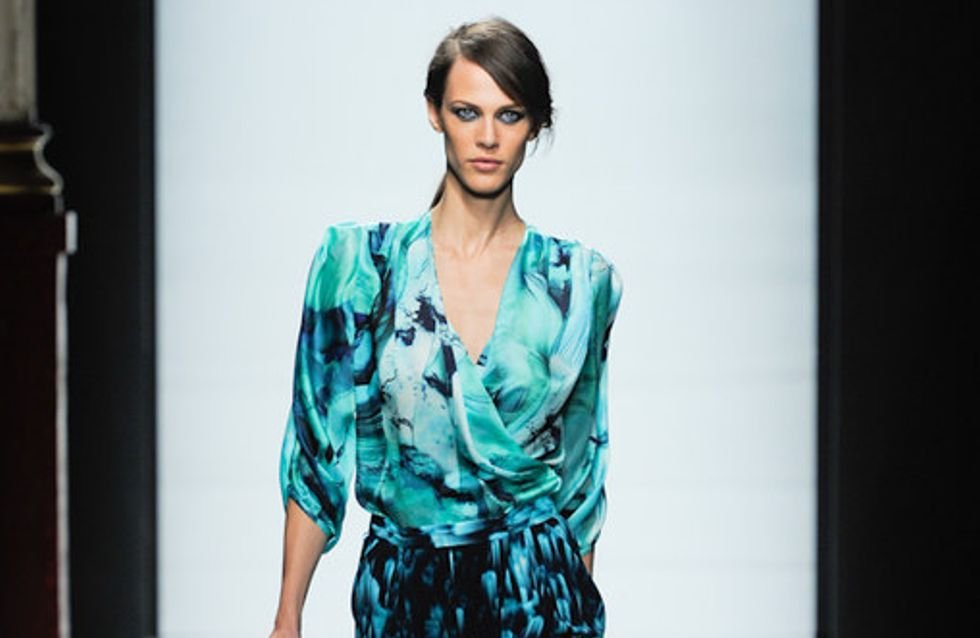 Emmanuel Ungaro Paris Fashion Week spring summer 2012