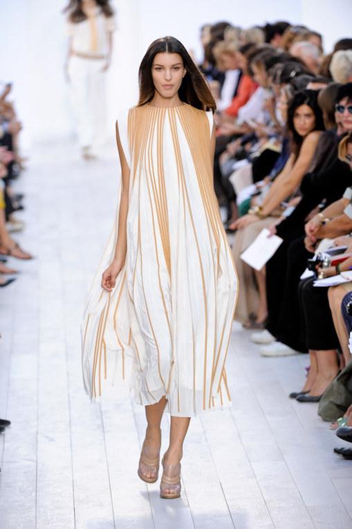 Chloé Paris Fashion Week spring summer 2012