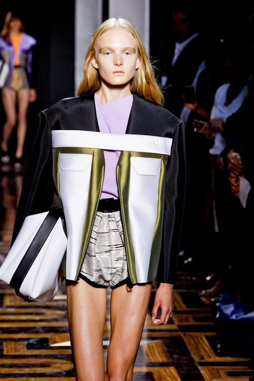 Balenciaga Paris Fashion Week spring summer 2012