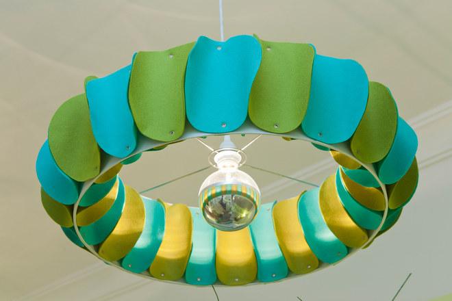 Dormitorio infantil, lámpara de techo