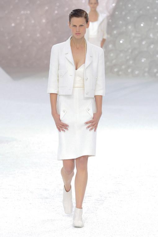Sfilata Chanel primavera-estate 2012 Parigi Fashion Week