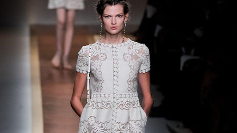 Valentino auf der Fashion Week Paris F/S 2012