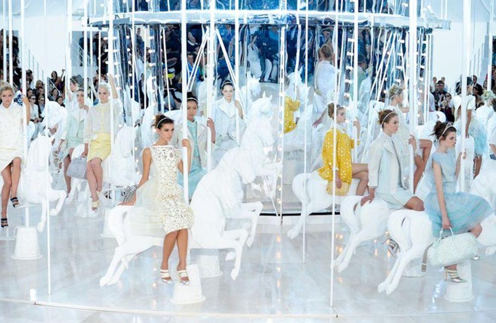 Louis Vuitton auf der Fashion Week Paris F/S 2012