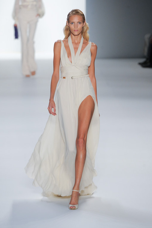 Elie Saab Paris Fashion Week spring summer 2012