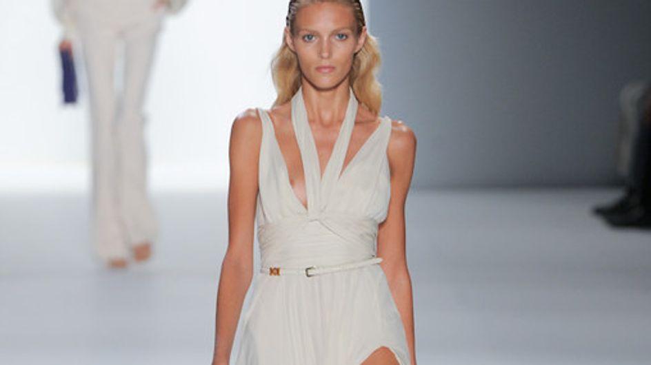 Elli Saab auf der Fashion Week Paris F/S 2012