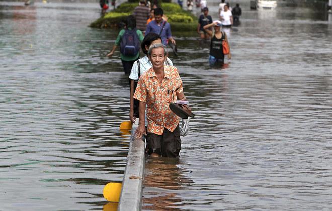 Allagamenti in Tailandia